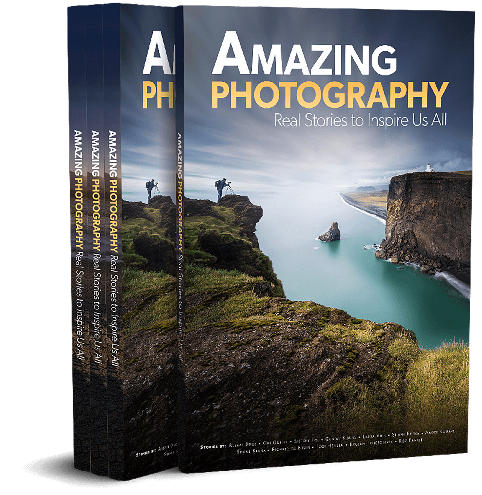 The cover of Amazing Photography